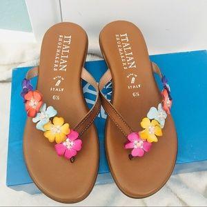ITALIAN SHOEMAKERS Sandals  Summer/Fall NWT!